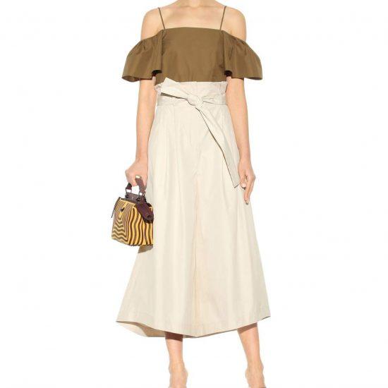 <b>Weit geschnittene Paperbag Culottes </b> von Fendi,<br>ca. 760 Euro über Mytheresa.com