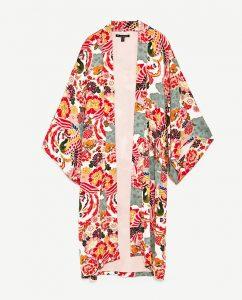Kimono-Jacke von Zara, ca. 30 Euro