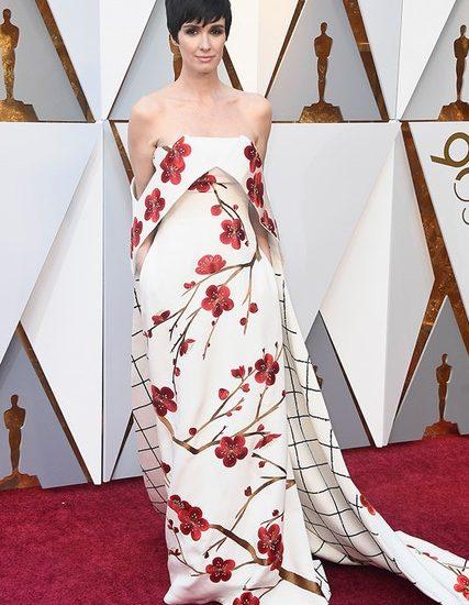 Die spanische Schauspielerin Paz Vega und ihr aufregendes Christopher Bu Print Dress waren eine unerwartete Freude.