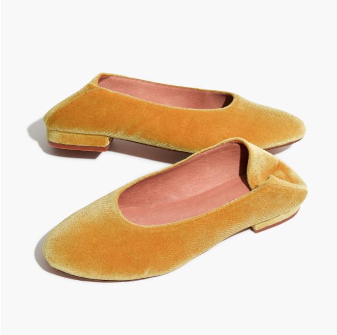 Madewell Schuh-Trend Slipper Flach Samt