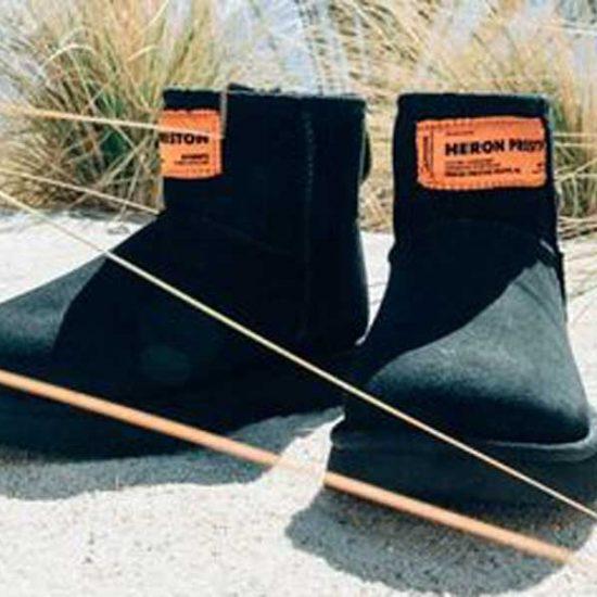 ugg heron preston collab boots schuhe kollektion beach boots