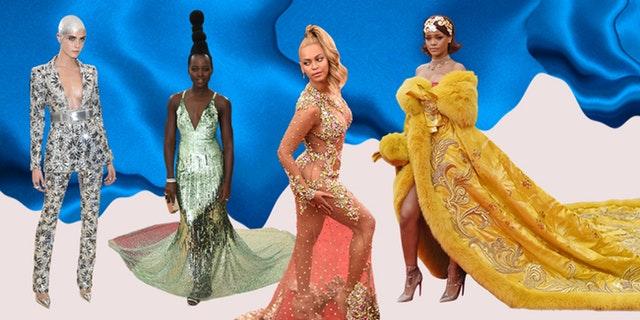 Met Gala Looks Rihanna Beyoncé