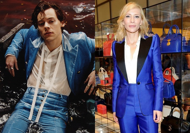 harry styles cate blanchett style twins looks outfits