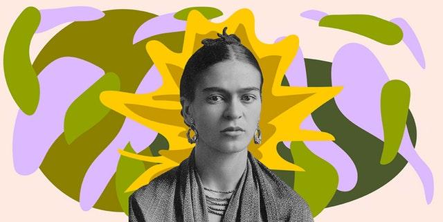 Frida-Kahlo Illustration Malerin Künstlerin