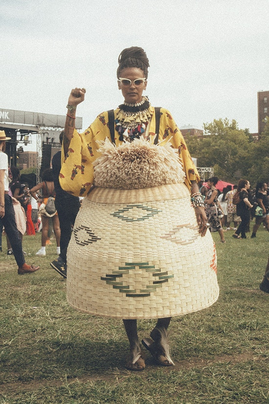 Afropunk festival looks streestyle brooklyn new york