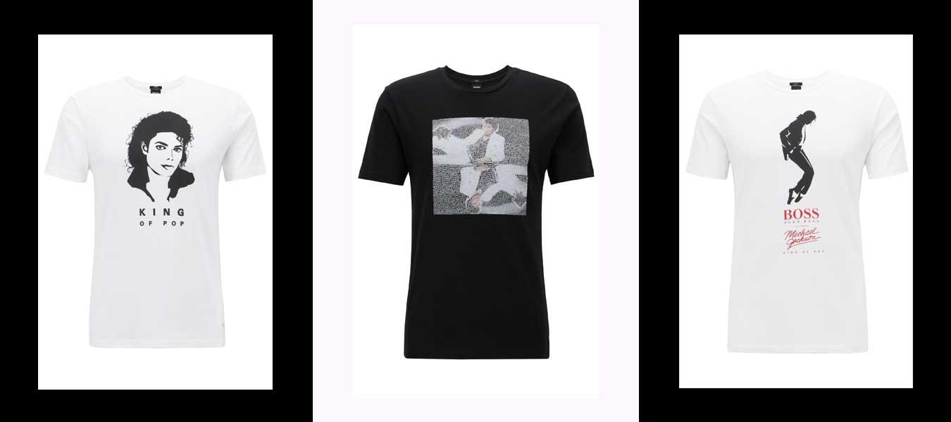 michael jackson shirt boss capsule collection