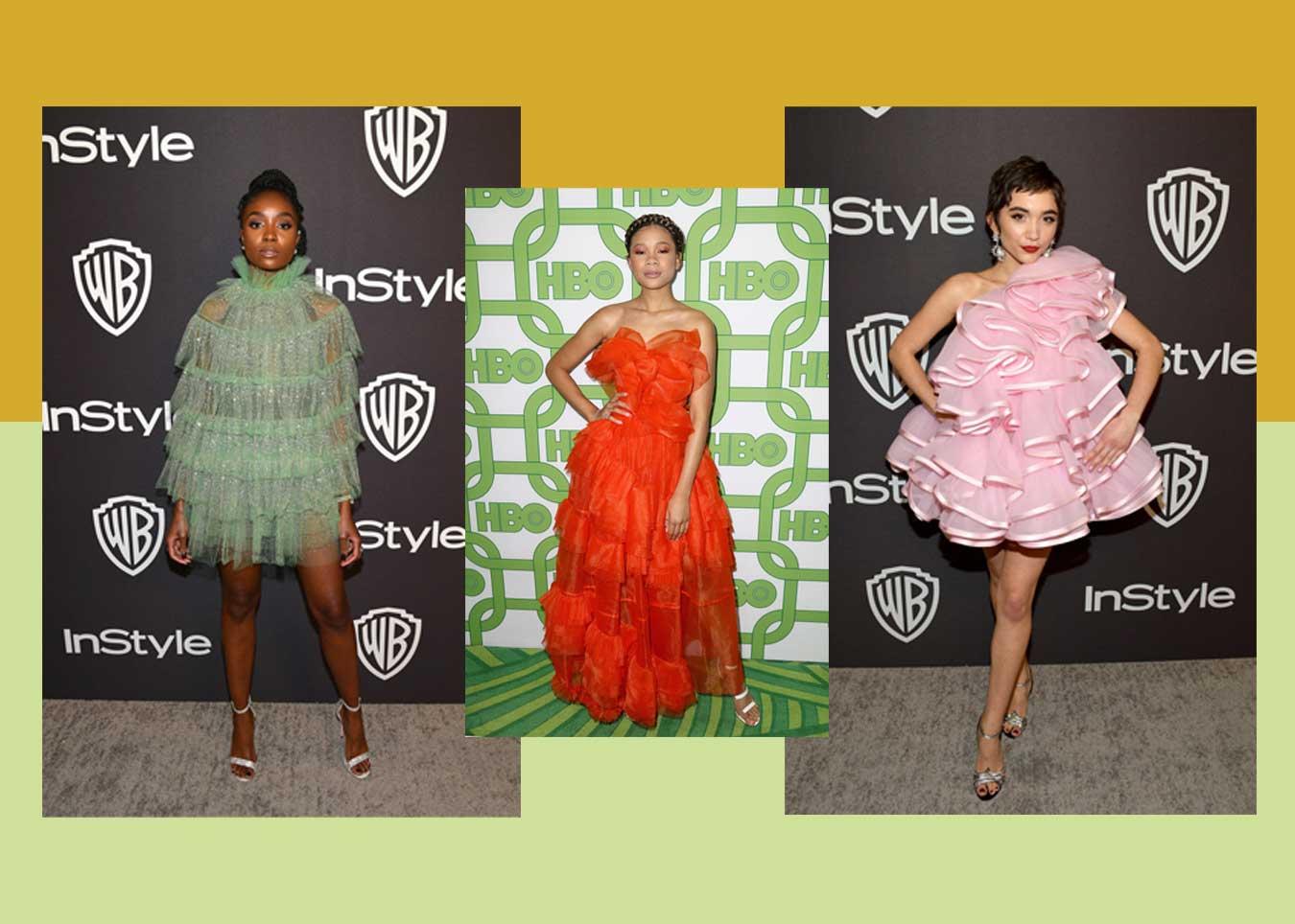 fashion news moschino rassismus klage golden globes schwamm kleider aftershow palina hm