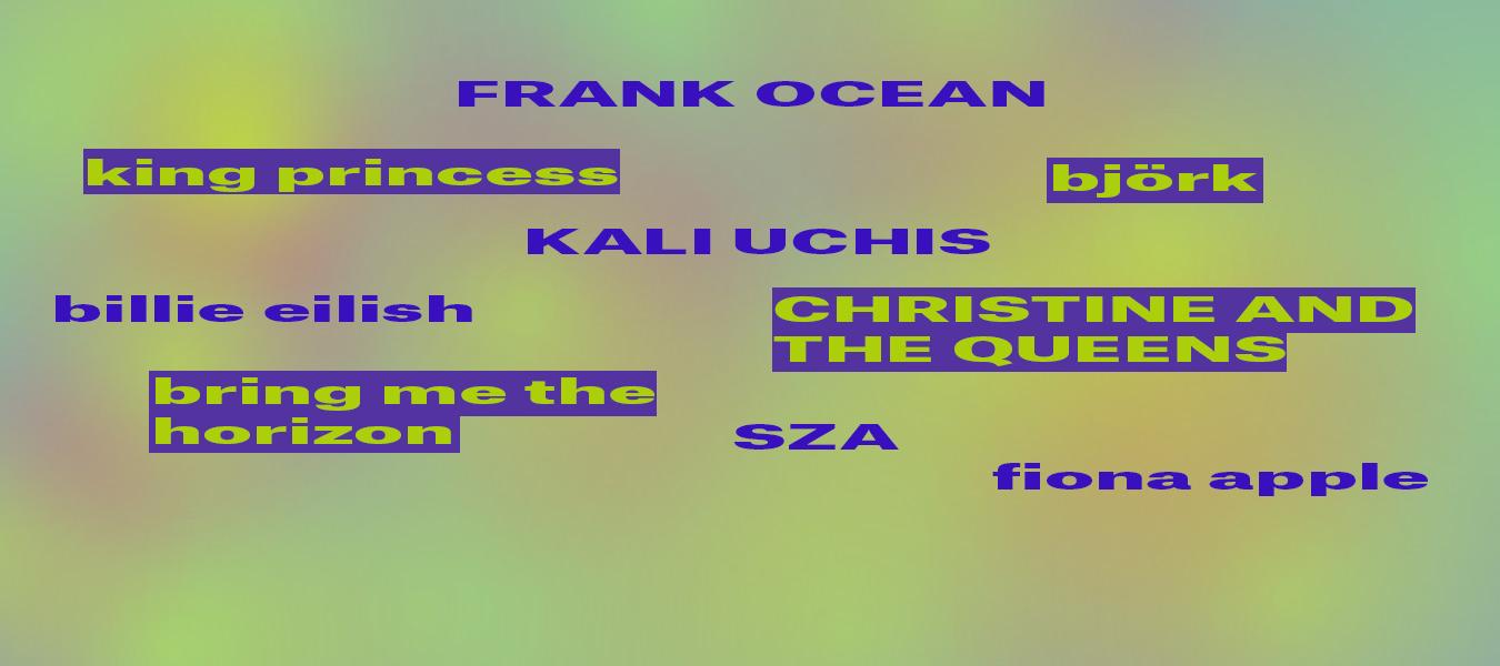 cover songs 2019 frank ocean sza billie eilish like a version kaliuchis king princess