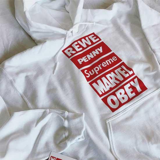 logomania shirt tankstelle sexshop supermarkt logo hype dhl