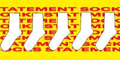 Sag's mit Footwear: Die besten Statement-Socken fürs Frühjahr