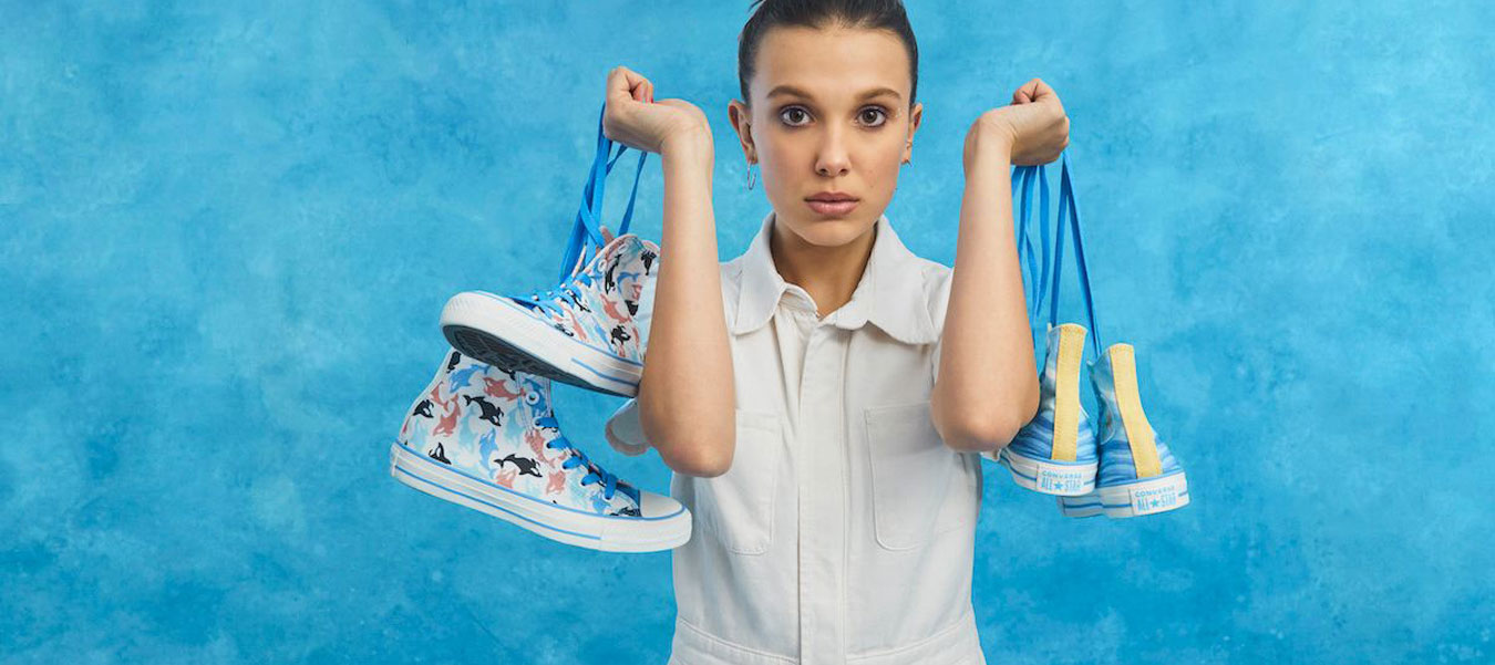 Millie Bobby Brown Sneaker