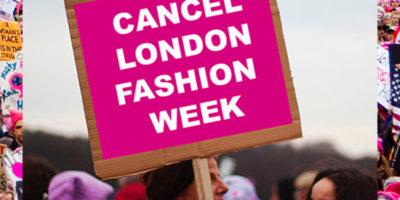Umweltaktivisten boykottieren die London Fashion Week & Drama bei Depop: Fashion News der Woche