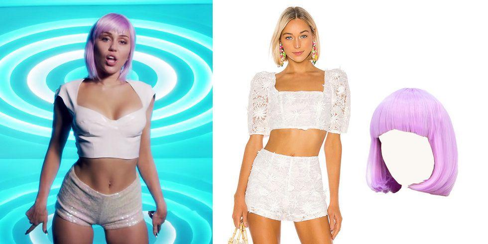 Miley Cyrus nachstylen Halloween