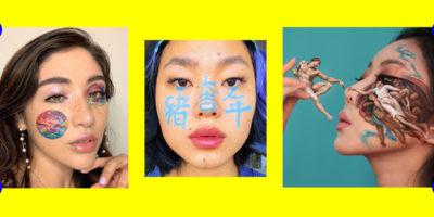 Kunst im Gesicht: Wie Face-Painter Instagram zur Leinwand machen