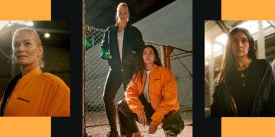 """""""Wana und Bibiana, wie brecht ihr Grenzen auf?"""" adidas Originals feiert 30 Jahre Mauerfall mit limitierter Kollektion"""