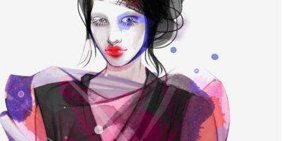 Von Blumen inspiriert: Dieser Bildband zeigt internationale Modeillustrationen