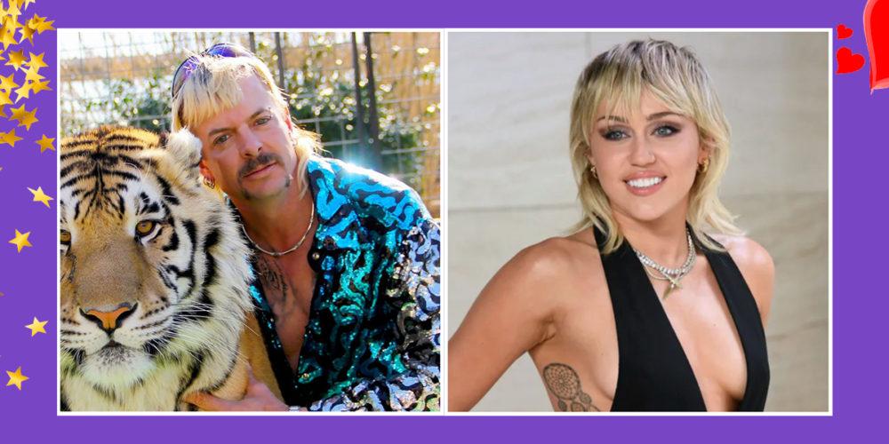 Joe Exotic & Miley Cyrus sind Hair-Twins