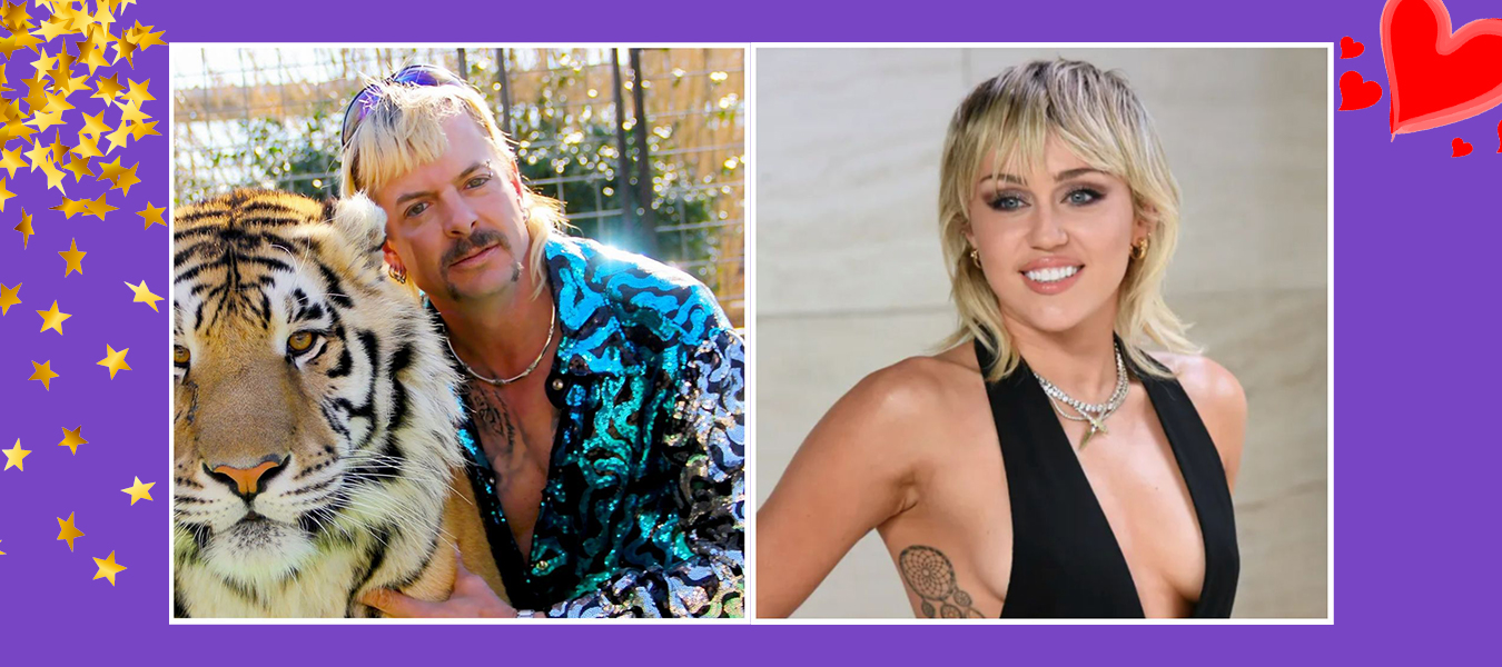 Joe Exotic & Miley Cyrus sind Hair-Twins