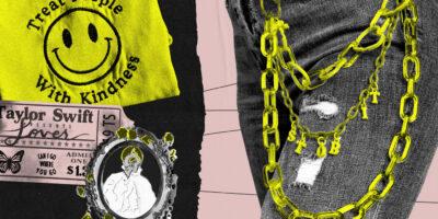 Mit BTS-Merch und Harry-Styles-Sticker machen diese Fans ihre Liebe zum Geschäftsmodell