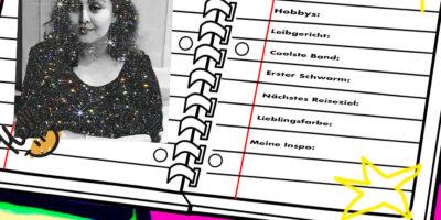NYLON-Freundebuch: Hello, Sara Shakeel!